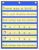 And Turkey Was His Name-O  -  A Thanksgiving Song Pocket Chart