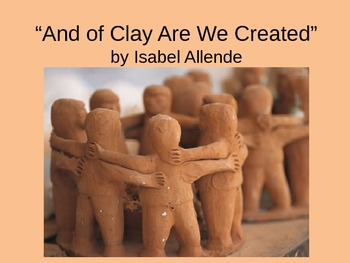 And of Clay Are We Created Introduction Powerpoint