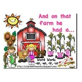 And on that FARM he had a... -ar,-er,-ir,-ur