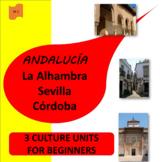 Andalucía!  (1) Sevilla,  (2) La Alhambra, (3) Torremolinos - SP Beginners 2
