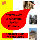 Andalucía! The Alhambra (1), Sevilla (2), Córdoba (3)- - S