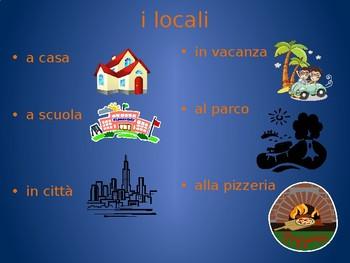 Andare con il trasporto in italiano