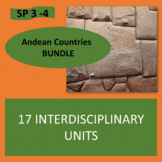 Andean Countries Bundle - 17 thematic units - Intermediate Spanish