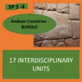 Andean Countries Bundle - 17 culture units - Intermediate Spanish