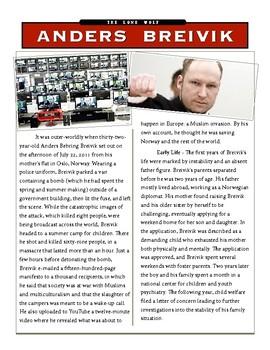 Anders Breivik - Norway Island Massacre w/key