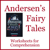 Andersen's Fairy Tales comprehension worksheets