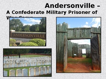 Andersonville Prison and Johnson's Island Prisoner of War Camps-Civil War Series