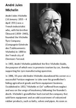André Jules Michelin Handout