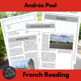 Andrée Peel - reading for intermediate/advanced French students