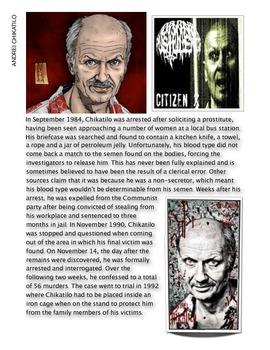 Forensics - Andrei Chikatilo - the Russian Ripper w/key