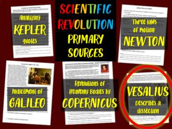 Andreus Vesalius - Scientific Revolution Primary Source with guiding questions