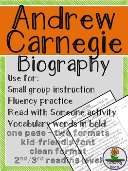 Andrew Carnegie Biography