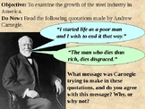 Andrew Carnegie and the Steel Industry PowerPoint Presentation