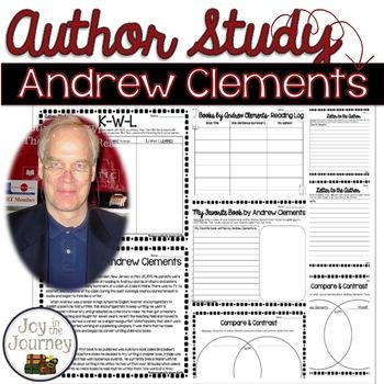 Andrew Clements Author Study