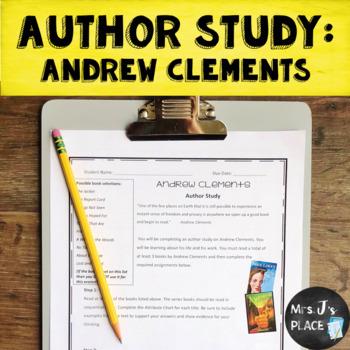 Andrew Clements Author Study bundle