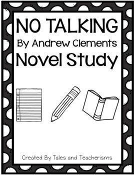 Andrew Clements Double Novel Study - No Talking and Frindle