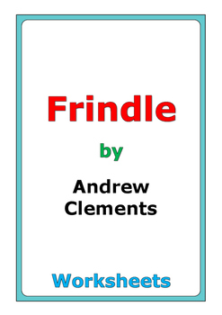 "Andrew Clements ""Frindle"" worksheets"