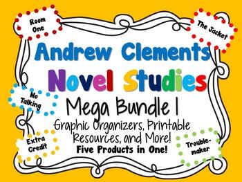 Andrew Clements Novel Studies Mega Bundle 1