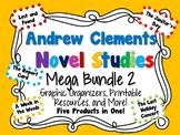 Andrew Clements Novel Studies Mega Bundle 2