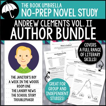 Andrew Clements Novel Study Bundle #2