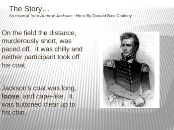 Andrew Jackson:  #7 with a Bullet!