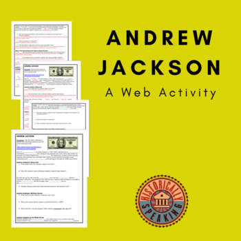 Andrew Jackson: A Web Activity