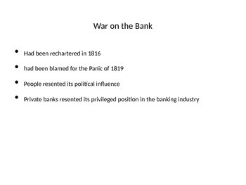 Andrew Jackson: Banks , Indian Removal Scandal , Panic of 1893