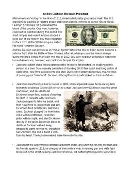 Andrew Jackson: Becoming President