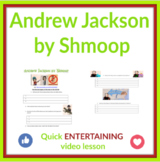 Andrew Jackson By Shmoop