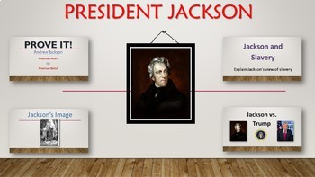 Andrew Jackson Choice Essay assignment