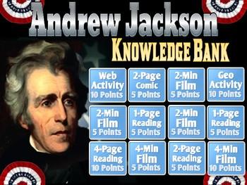 Andrew Jackson Digital Knowledge Bank