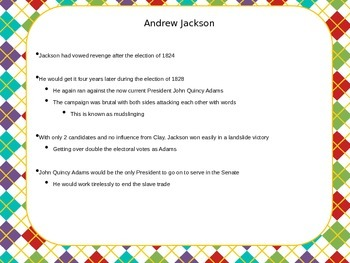 Andrew Jackson: Election of 1828 and the Spoils System