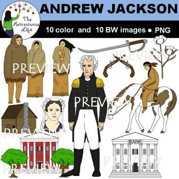 Andrew Jackson Era Clip Art
