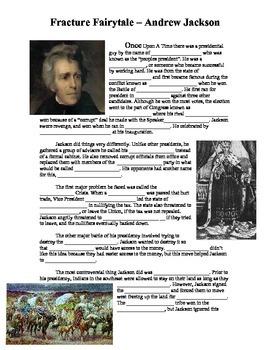 Andrew Jackson - Fractured Fairytale