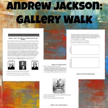 Andrew Jackson Gallery Walk