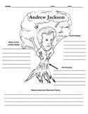 7th President - Andrew Jackson Graphic Organizer