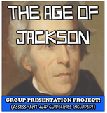 Andrew Jackson Group Presentation Project!  Student Groups Explore Jackson!