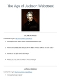 Andrew Jackson (Jacksonian Democracy) Webquest