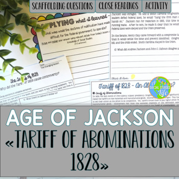 Andrew Jackson, John C. Calhoun, and the Tariff of Abominations 1828
