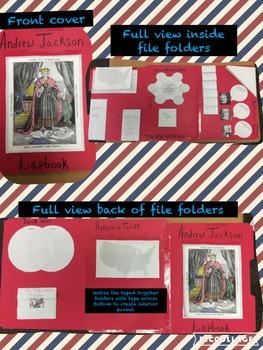 Andrew Jackson Lap Book
