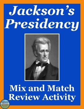 Andrew Jackson Mix and Match Activity