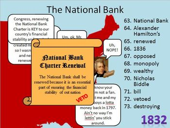 Andrew Jackson Notes and Powerpoint