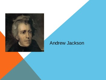 Andrew Jackson Political Problems Powerpoint