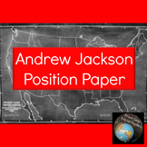 Andrew Jackson Position Paper