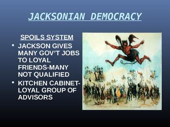 Andrew Jackson Presidency/Common Core Activity (CCSS.ELA-LITERACY.RH.6-8.2)