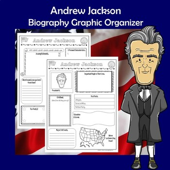 Andrew Jackson President Biography Research Graphic Organizer