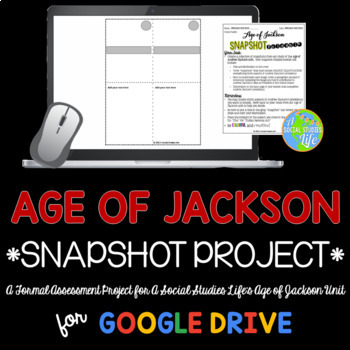 Andrew Jackson Snapshot Foldable Project