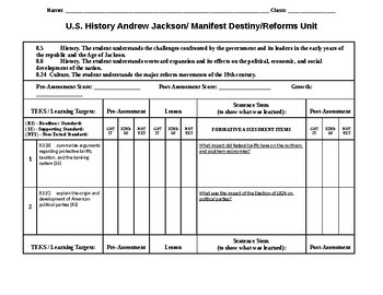 Andrew Jackson Student Tracking Tool