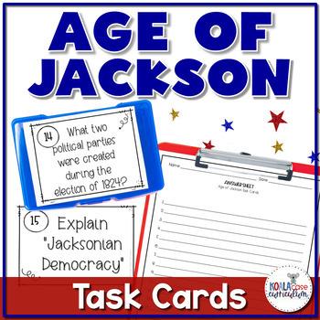 Andrew Jackson Task Card Activity