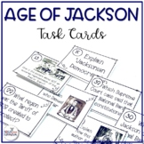 Andrew Jackson Task Cards (TEKS aligned)